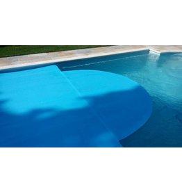 Blue poolcovers Romeinse /rechthoek trap maken