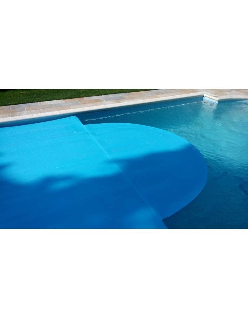Blue poolcovers Rondingen maken - Ovaal zeil maken