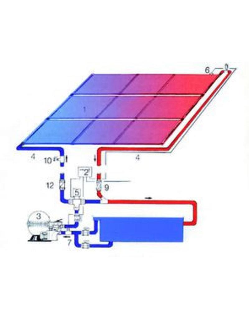 Oku Solar / zonne paneel, HDPE kunststof.