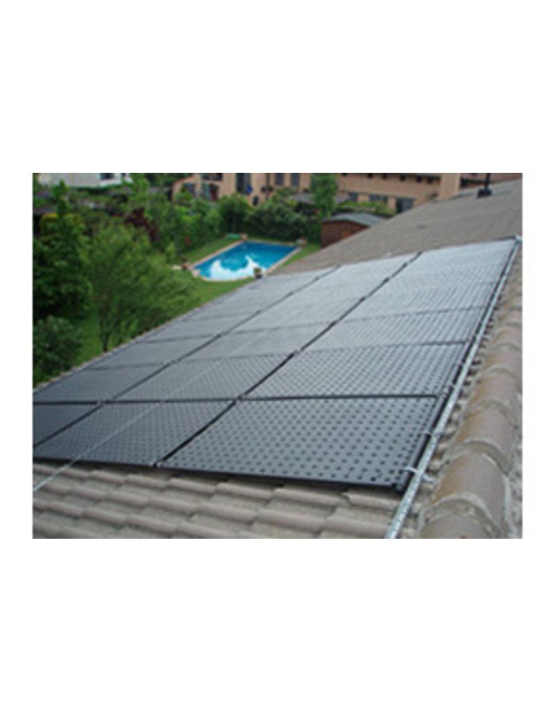 Solar / zonne paneel, HDPE kunststof.