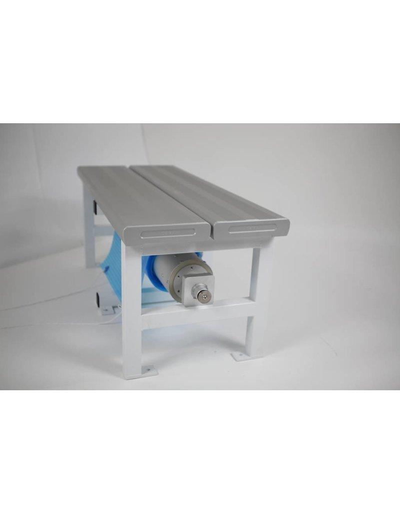 Blue poolcovers Oprolsysteem BP-D electric met Bank, prijs op aanvraag.