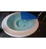 """Blue poolcovers Blue poolcovers Spa 6 mm Grijs /m2. Maat afronden naar boven. Bij het afrekenen geeft U bij """"Opmerking"""" de exacte maten door. (zie product omschrijving)"""