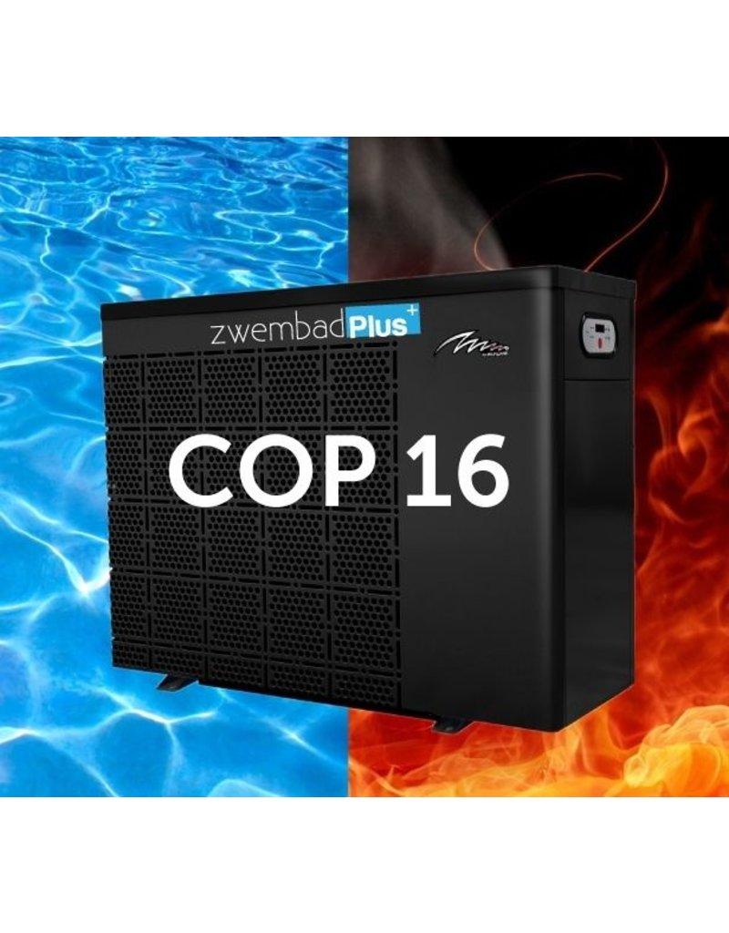 PPG Zwembad warmtepomp PPG Inverter Plus IPH150T (60 kW) + WIFI- publieke baden tot ca. 200 m3