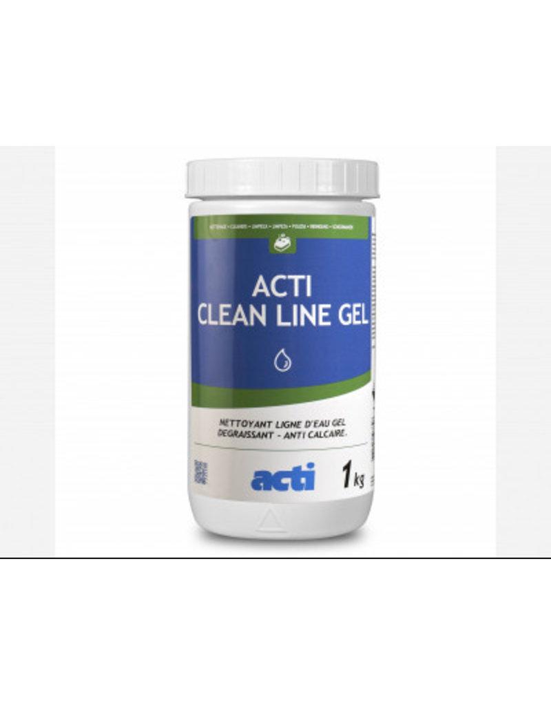 ACTI ACTI WATERLIJN REINIGINGSGEL Reiniger voor waterrand in gelvorm. Lost vetafzettingen op en verwijdert kalkafzettingen.