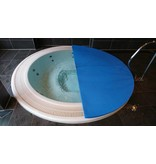 """Blue poolcovers Blue poolcovers Spa 8 mm Grijs/m2. Maat afronden naar boven. Bij het afrekenen geeft U bij """"Opmerking"""" de exacte maten door. (zie product omschrijving)"""