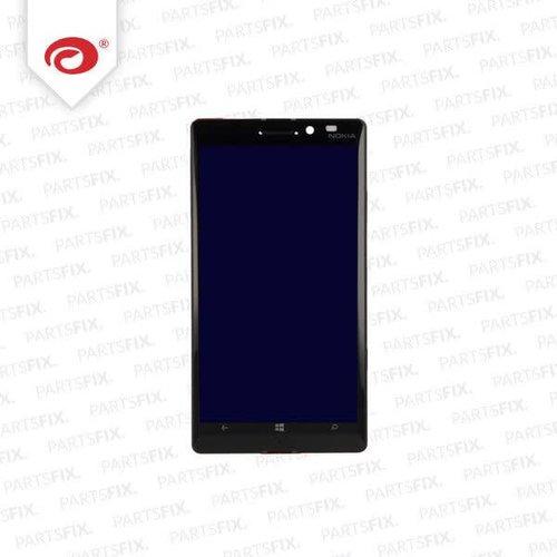 Lumia 920 display module + frame (touch+lcd) zwart