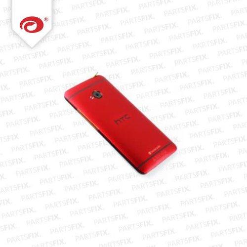 One M7 achterkant (rood)