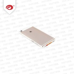 P8 back cover (wit)