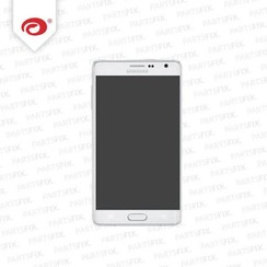 Galaxy Note 4 Edge display complete (white)