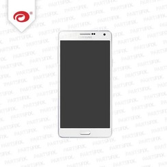 A7 display module + home button (touch+lcd) white