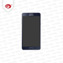 A7 display module + home button (touch+lcd) blauw