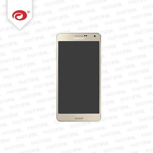 A7 display module + home button (touch+lcd) gold