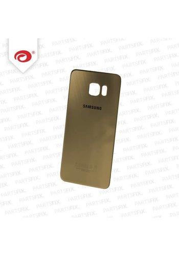S6 Edge+ back cover goud