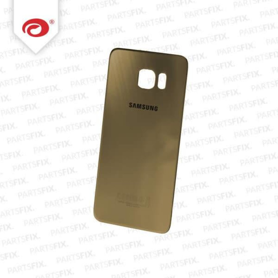S6 Edge+ back cover gold-2