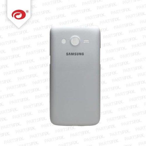 Galaxy Core lte back cover white