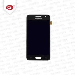 Galaxy Core 2 display module + (touch+lcd) zwart