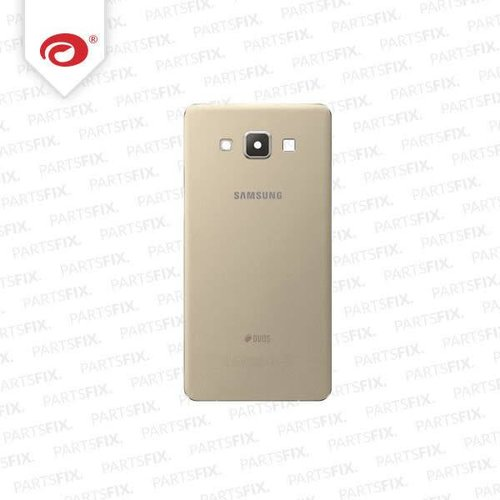Galaxy A5 back cover gold