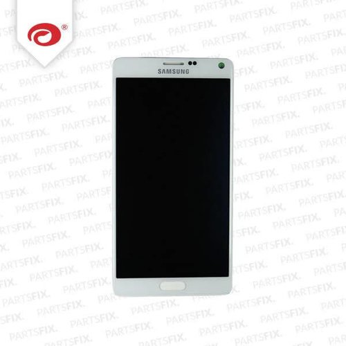 Note 4 display (white)