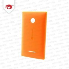 Lumia 435 back cover oranje