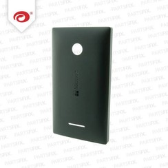 Lumia 435 back cover zwart