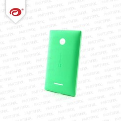 Lumia 435 back cover green