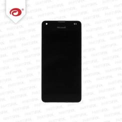 Lumia 550 display module + frame (touch+lcd) zwart