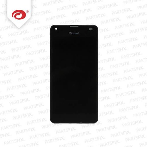 Lumia 550 display module + frame (touch+lcd) black