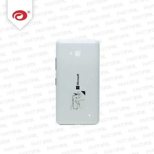 Lumia 640 back cover white