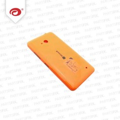 Lumia 640 back cover oranje