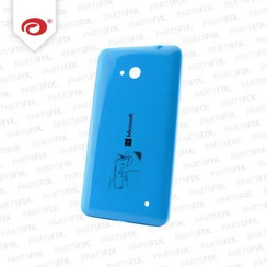 Lumia 640 back cover blauw