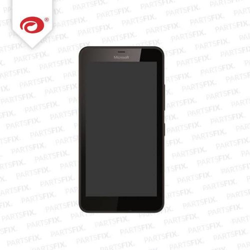 Lumia 640 display module + frame (touch+lcd) black