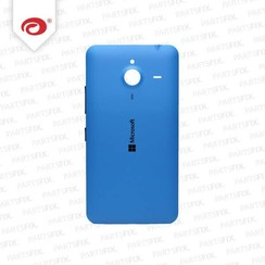 Lumia 640 XL back cover blue