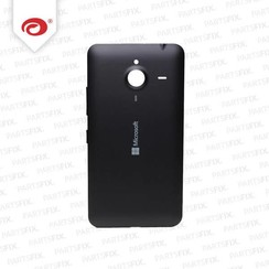 Lumia 640 XL back cover zwart