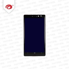 Lumia 930 display module + frame (touch+lcd) zwart