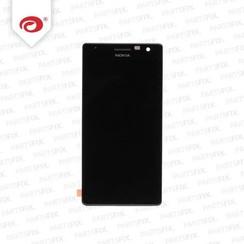 Lumia 730 display module + frame (touch+lcd) zwart
