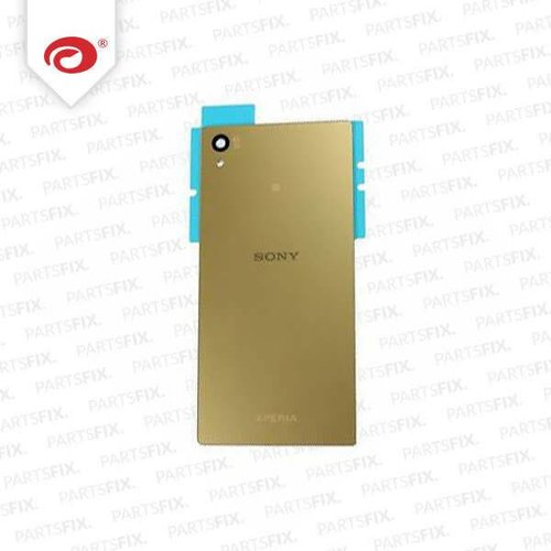 Xperia Z5 back cover gold