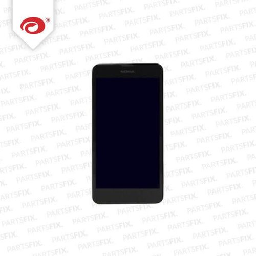 Lumia 630 display module + frame (touch+lcd) black