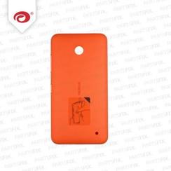 Lumia 630 back cover oranje