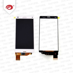 Xperia Z3 compact display module (touch+lcd) white
