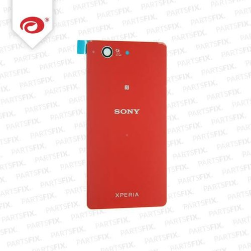Xperia Z3 compact back cover orange/red