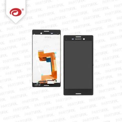 Xperia m4  display module  (touch+lcd) zwart