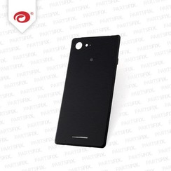 Xperia E3 back cover zwart