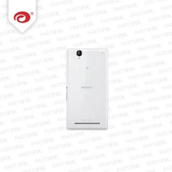 Xperia T2 back cover white