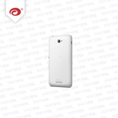 Xperia E4 achterkant wit