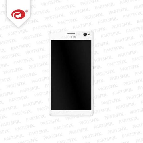 Xperia C4 display module = frame (touch+lcd) white