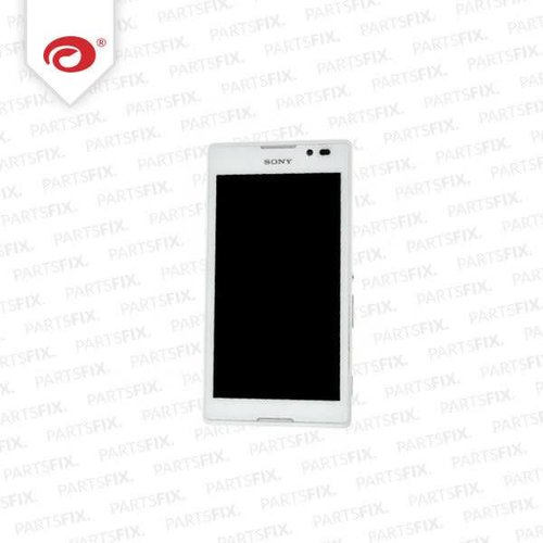 Xperia C3 display module + Frame (touch+lcd) wit