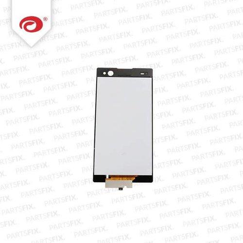 Xperia C3 display module (touch+lcd) zwart