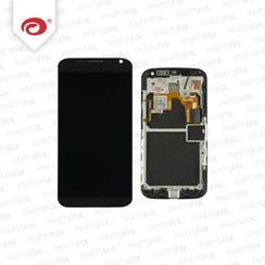 Moto X Display Unit (touch+lcd) met frame zwart