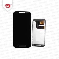 Moto G 3 2015 Display Unit (touch+lcd) zwart