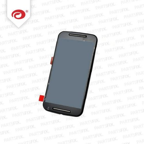 Moto G 2 2014 Display Unit (touch+lcd) with frame black